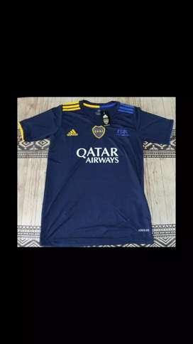 Camiseta Boca Azul Homenaje Japon