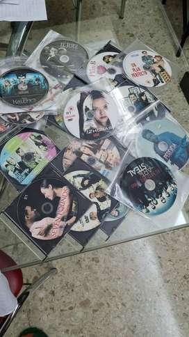 Lote de 100 DVD Peliculas Varias Usadas todas Buen Estado y Conservacion