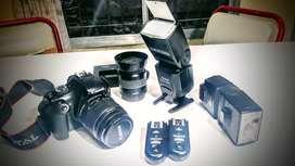 Camara Canon t3 y combo. Venta/ canje x bici aluminio