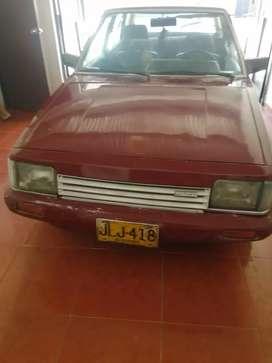 Vendo Mazda 323 HB modelo 84 o permuto por camioneta encimo