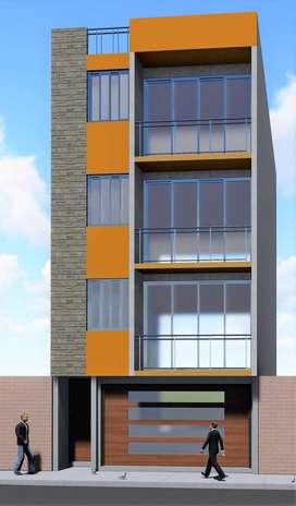 Se Vende Departamento 1er Piso 75 m2 con cochera - Proyecto Multifamiliar