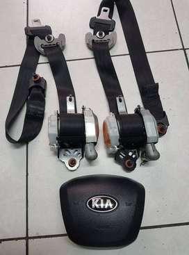 Cinturones Kia Rio 2012 - 2016