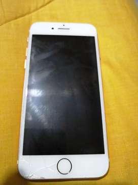 iPhone 7 pantalla trizada 100% funcional estado 7/10