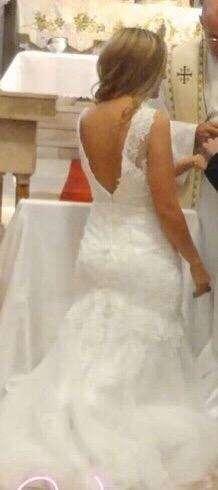 Liquido vestido de novia- Acepto Mercado pago