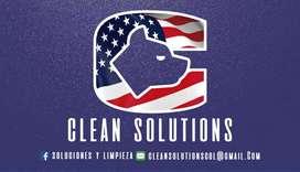 Soluciones de limpieza