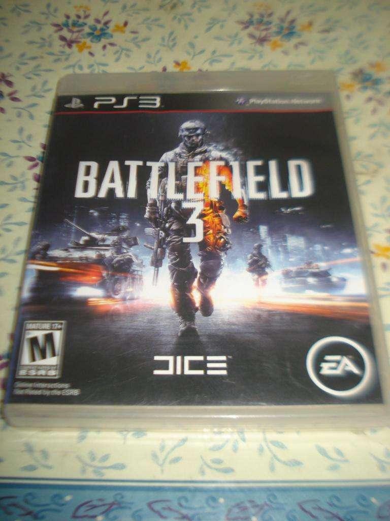 Juego Battlefield Para Play 3 C/caja Y Manual Original Impec 0