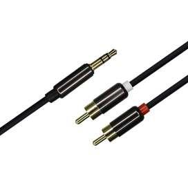 Cable 2x1 Estéreo Hi-fi 1,8mts