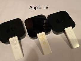 Apple tv de segunda y tercera generación