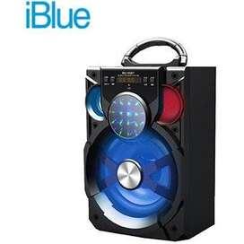 PARLANTE IBLUE BLUETOOTH ILUMINADO USB/MICRO SD/FM 15W-600MAH BLACK