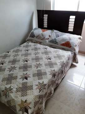 Vendo cama semidoble