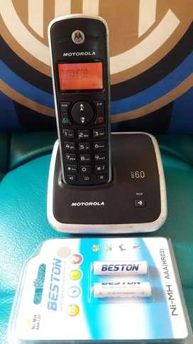 Motorola con identificador y altavoz