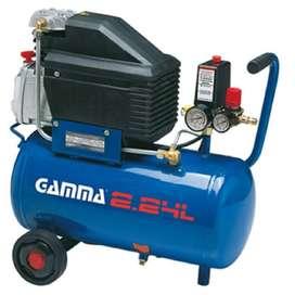 Compresor De Aire Gamma 24lts. 2hp Portatil G2801