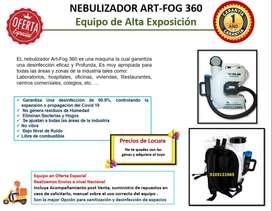 Nebulizador eléctrico Art-Fog 360
