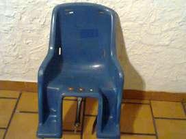 Vendo o permuto silla de bebé para bicicleta