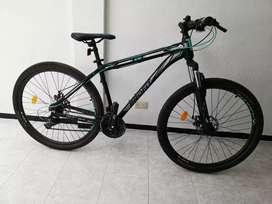 Bicicleta poco uso, negociable.