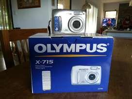 Camara Olimpus X715 5mgp con Zoom 11x