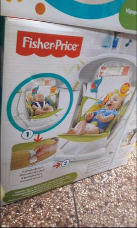 Vendo silla fisher price mecedora columpio en perfecto estado