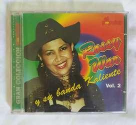 Rossy war y su banda caliente cd original techno cumbia
