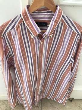 Camisa Massimo Dutti- Talle Xl