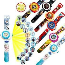 Reloj para Niños con Proyección de imagen