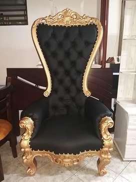 Silla trono