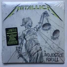 Metallica And Justice For All Cd Nuevo importado