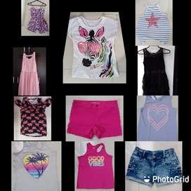 Vendo saldo de ropa para niña talla 8-10 años