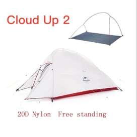 Naturehike- serie Cloud Up 2 -tienda de campaña ultraligera para 2 personas. NUEVA.