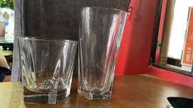 Duo de vasos gruesos