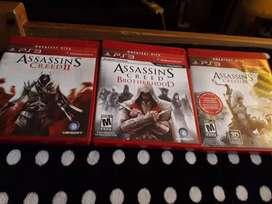 Assassin's Creed 2, Brotherhood y 3