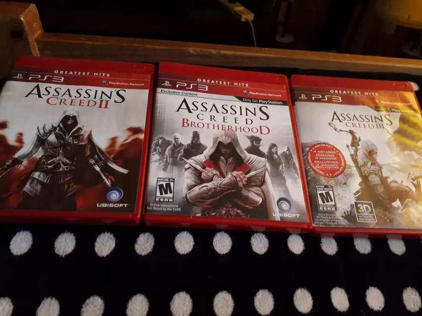 Assassin's Creed 2, Brotherhood y 3 0