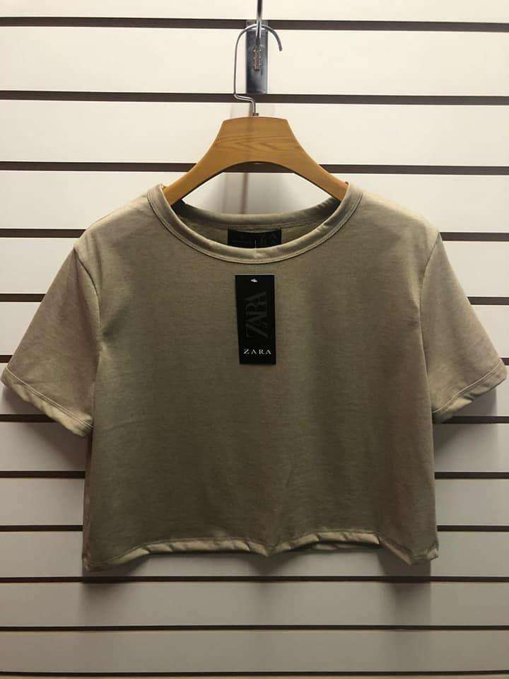 Polos crop top Mujer 0