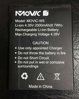 Bateria Movic W5 Oroginal