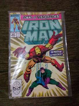 1985 Marvel Iron Man Cómic Inglés