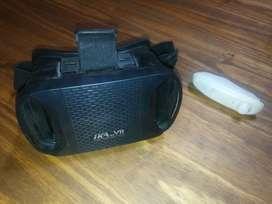 """Lentes VR de realidad virtual """"IKA"""" con mando bluetooth"""