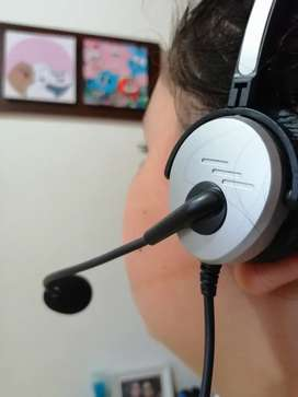 Diademas usb call center