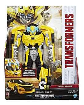 Transformers Bumblebee The Last Knight 2 Pasos Hasbro