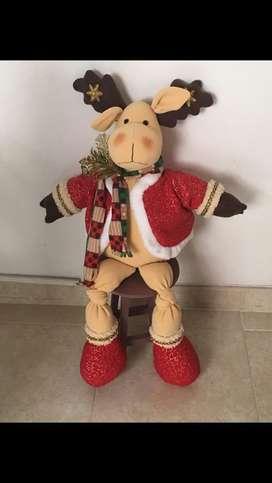 Muñecos de navidad hechos a mano