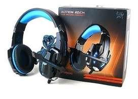 Audifonos Diadema Gamer G9000 Azul Kotion