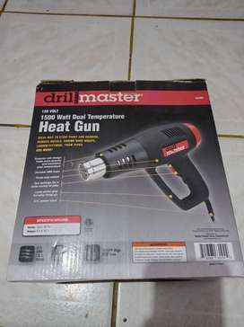 Pistola de calor 1500 Watt DRIL MASTER usada en perfecto estado