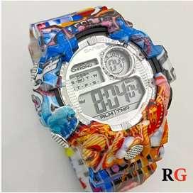 Relojes digitales chispiados