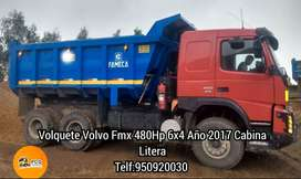 Camion Volquete VOLVO FMX 480HP 6X4  2017