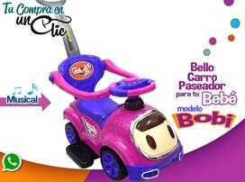 CARRO PASEADOR DE BEBÉ  modelo Bobi, con ruedas360 grados. 7meses a 2 años y medio.  Nuevos