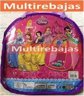 Para Niños Frozen,Cars, Paw Patrol,Mickey Mouse,Princesas Casita Plegable