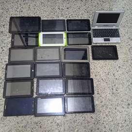 Saldo de Tablets para repuestos