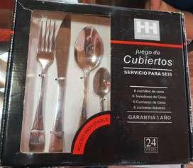 Juego de Cubiertos House&Home 6 servicios