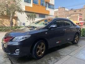 Toyota corolla 2012 modelo 2013