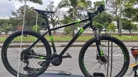 Bicicleta Gw wolf 27.5 Talla L 9v altus Hidraulico