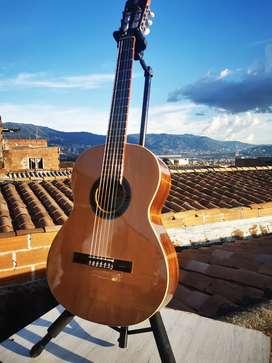 GANGA - Guitarra acústica Alhambra 1C mela