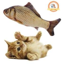 Juguete pescado con Catnip para gatos